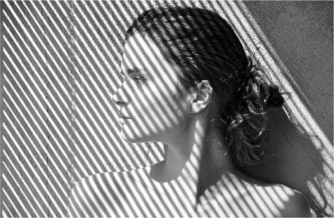 Ein Portrait mit Schatten
